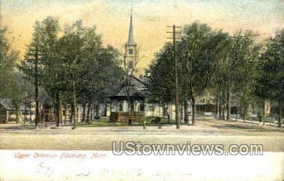 Upper Common - Fitchburg, Massachusetts MA Postcard