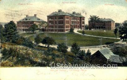 Normal School - Fitchburg, Massachusetts MA Postcard