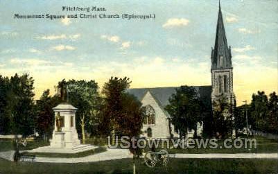 Christ Church - Fitchburg, Massachusetts MA Postcard