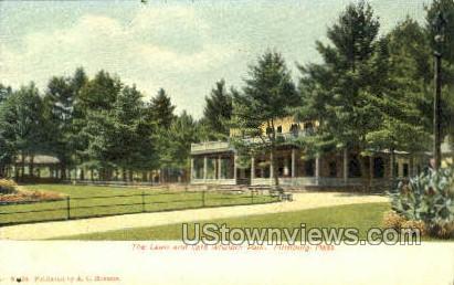 The Lawn & Cafª, Whalom Park - Fitchburg, Massachusetts MA Postcard
