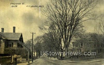 Prichard St. - Fitchburg, Massachusetts MA Postcard