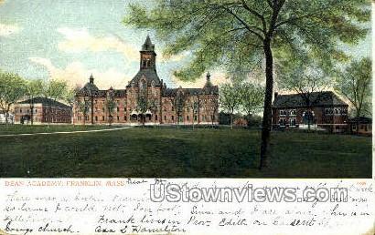 Dean Academy - Franklin, Massachusetts MA Postcard