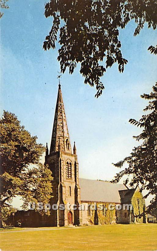 Saint Barnabas Memorial Church - Falmouth, Massachusetts MA Postcard