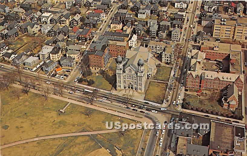 Saint Anne's Church & Shrine - Fall River, Massachusetts MA Postcard