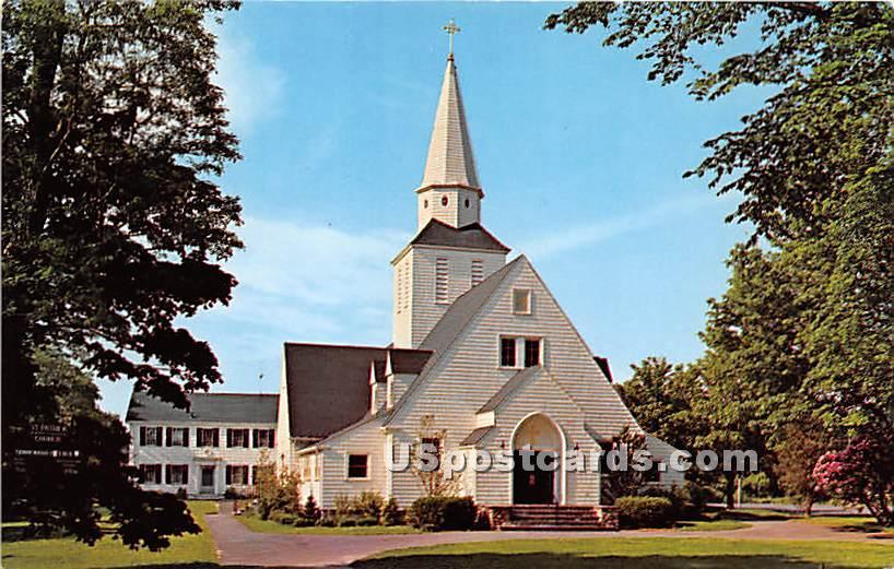 St Patrick's Roman Catholic Church - Falmouth, Massachusetts MA Postcard