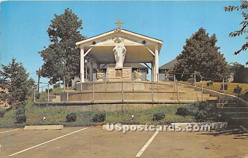 Our Lady of Leabanon - Fall River, Massachusetts MA Postcard
