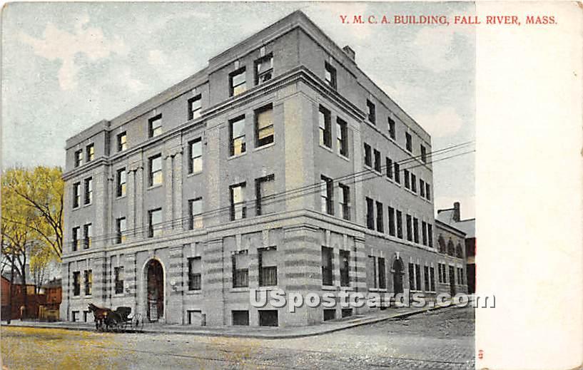 YMCA Building - Fall River, Massachusetts MA Postcard