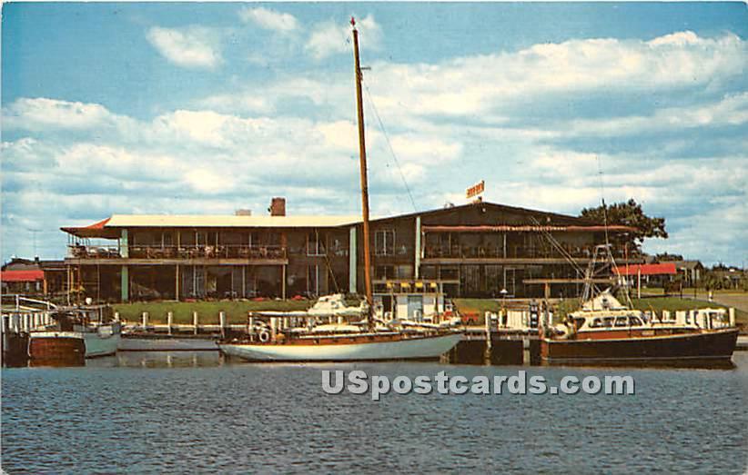 The Flying Bridge Restaurant - Falmouth, Massachusetts MA Postcard