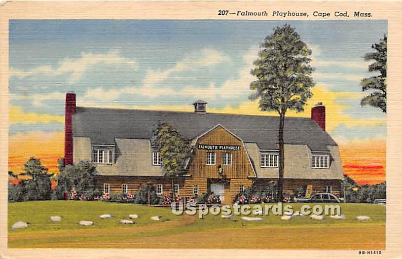 Falmouth Playhouse - Massachusetts MA Postcard