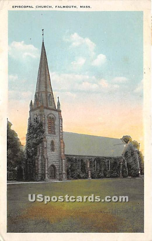 Episcopal Church - Falmouth, Massachusetts MA Postcard