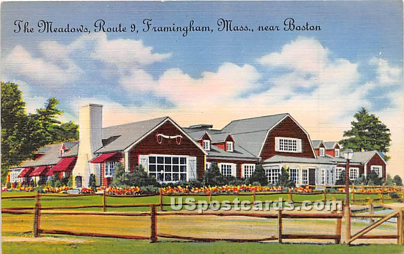 The Meadows - Framingham, Massachusetts MA Postcard