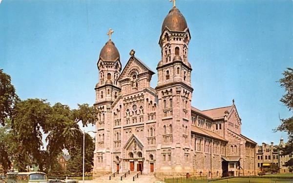 Saint Anne's Church & Shrine Fall River, Massachusetts Postcard