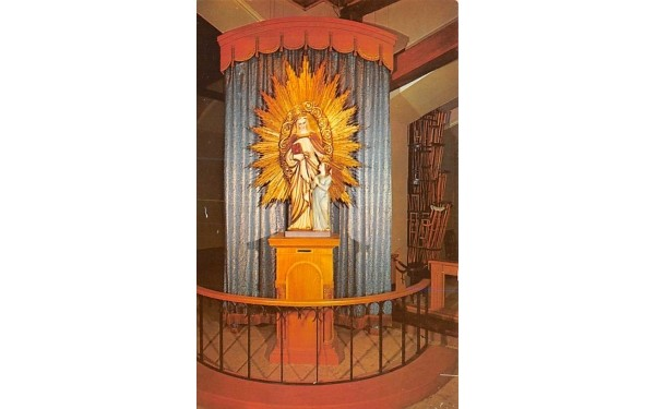 Sanctuaire Saint Anne Shrine Fall River, Massachusetts Postcard