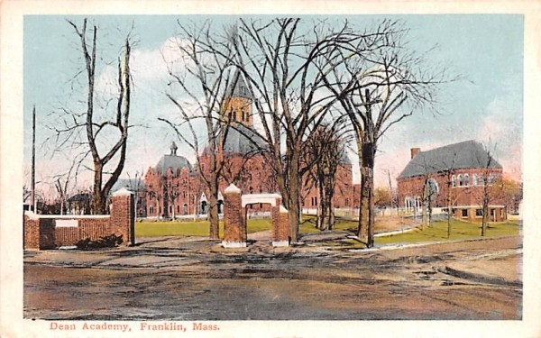 Dean Academy Franklin, Massachusetts Postcard