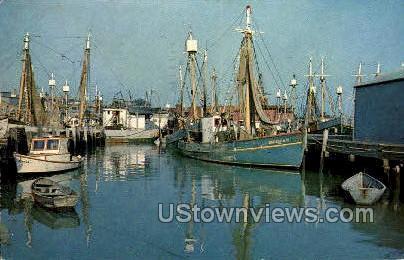 Fishing Boats - Gloucester, Massachusetts MA Postcard