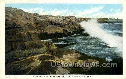 Briar Neck - Gloucester, Massachusetts MA Postcard