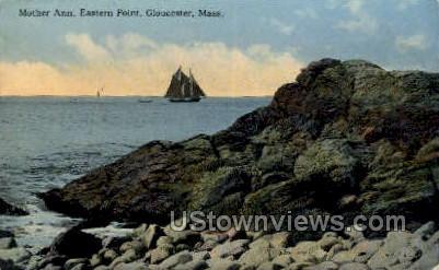 Mother Ann, Eastern Point - Gloucester, Massachusetts MA Postcard