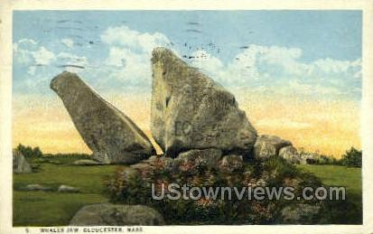 Whales Jaw - Gloucester, Massachusetts MA Postcard