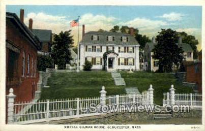 Murray Gilman House - Gloucester, Massachusetts MA Postcard