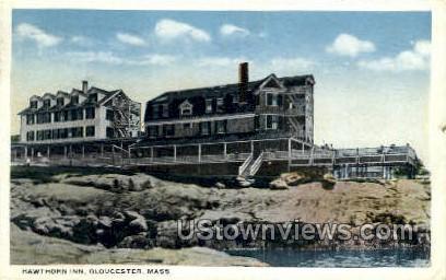 Hawthorn Inn - Gloucester, Massachusetts MA Postcard