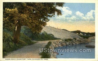 Stage Fort Park - Gloucester, Massachusetts MA Postcard