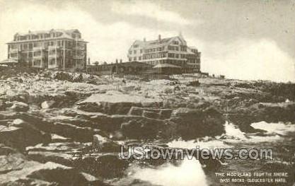 Moorland, Bass Rocks - Gloucester, Massachusetts MA Postcard