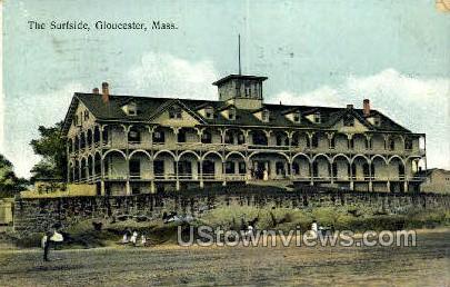 The Surfside - Gloucester, Massachusetts MA Postcard