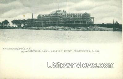 Colonial Arms, Eastern Point - Gloucester, Massachusetts MA Postcard