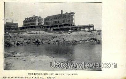 Hawthorne Inn - Gloucester, Massachusetts MA Postcard