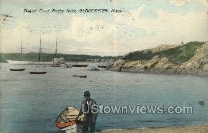 Oakes' Cove, Rocky Neck - Gloucester, Massachusetts MA Postcard