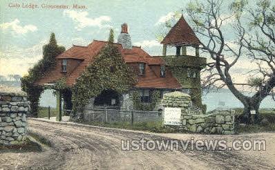 Gate Lodge - Gloucester, Massachusetts MA Postcard