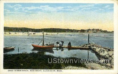 Good Harbor Beach - Gloucester, Massachusetts MA Postcard
