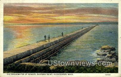 Eastern Point - Gloucester, Massachusetts MA Postcard
