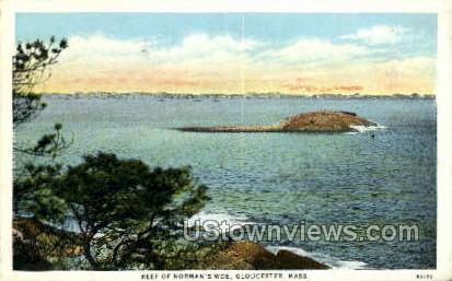 Reef of Norman's Woe - Gloucester, Massachusetts MA Postcard