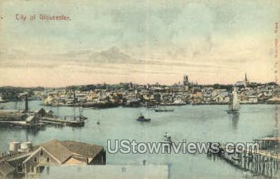 Gloucester, MA     ;     Gloucester, Massachuetts - Massachusetts MA Postcard