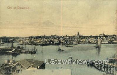 Gloucester, Massachusetts    ;     Gloucester, Mass Postcard