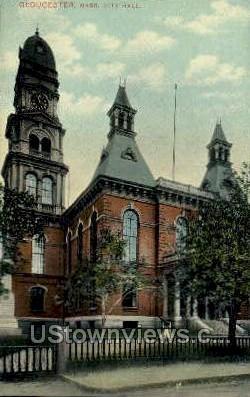 City Hall - Gloucester, Massachusetts MA Postcard