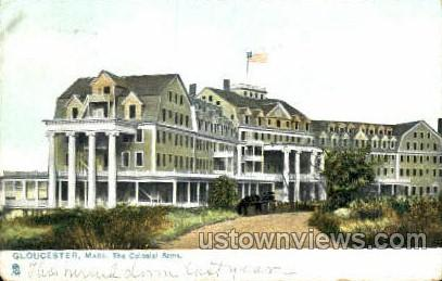 The Colonial Arms - Gloucester, Massachusetts MA Postcard