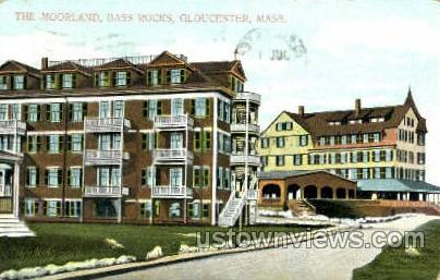 The Moorland, Bass Rocks - Gloucester, Massachusetts MA Postcard