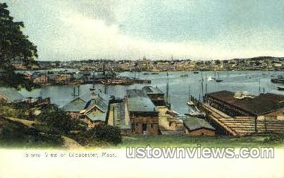 Gloucester, Massachusetts, MA Postcard