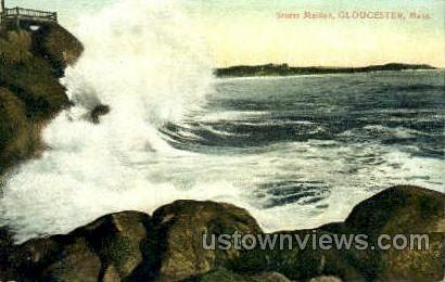 Storm Maiden - Gloucester, Massachusetts MA Postcard