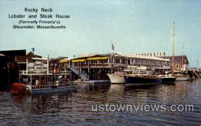 Rocky Neck Lobster & Steak - Gloucester, Massachusetts MA Postcard