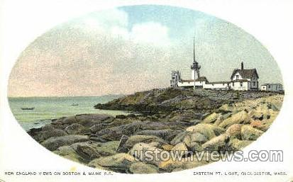 Eastern Point Light - Gloucester, Massachusetts MA Postcard