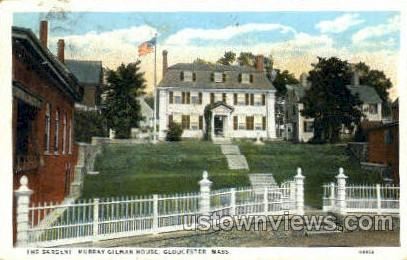 Murray Gilman House - Gloucester, Massachusetts MA Postcard