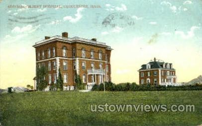 Addison Gilbert Hospital - Gloucester, Massachusetts MA Postcard