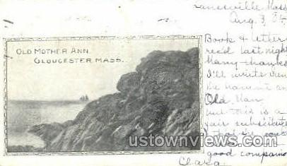 Old Mother Ann - Gloucester, Massachusetts MA Postcard