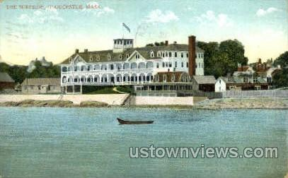 The Surfside - Gloucester, Massachusetts MA Postcard
