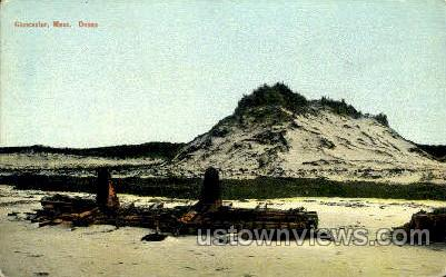 Dunes - Gloucester, Massachusetts MA Postcard