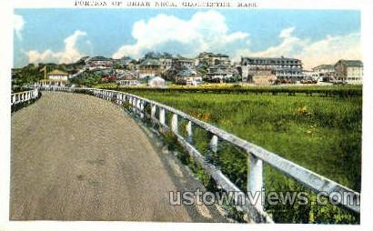 Portion of Briar Neck - Gloucester, Massachusetts MA Postcard
