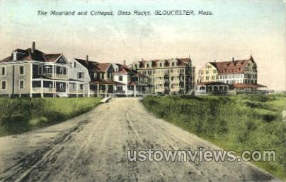 The Moorland & Cottages - Gloucester, Massachusetts MA Postcard